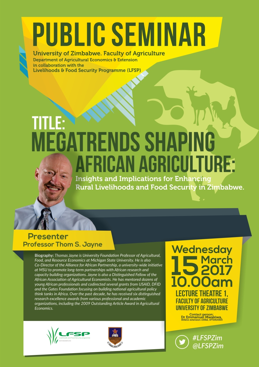 Public Seminar on Megatrends affecting Africa's Rural Transformation