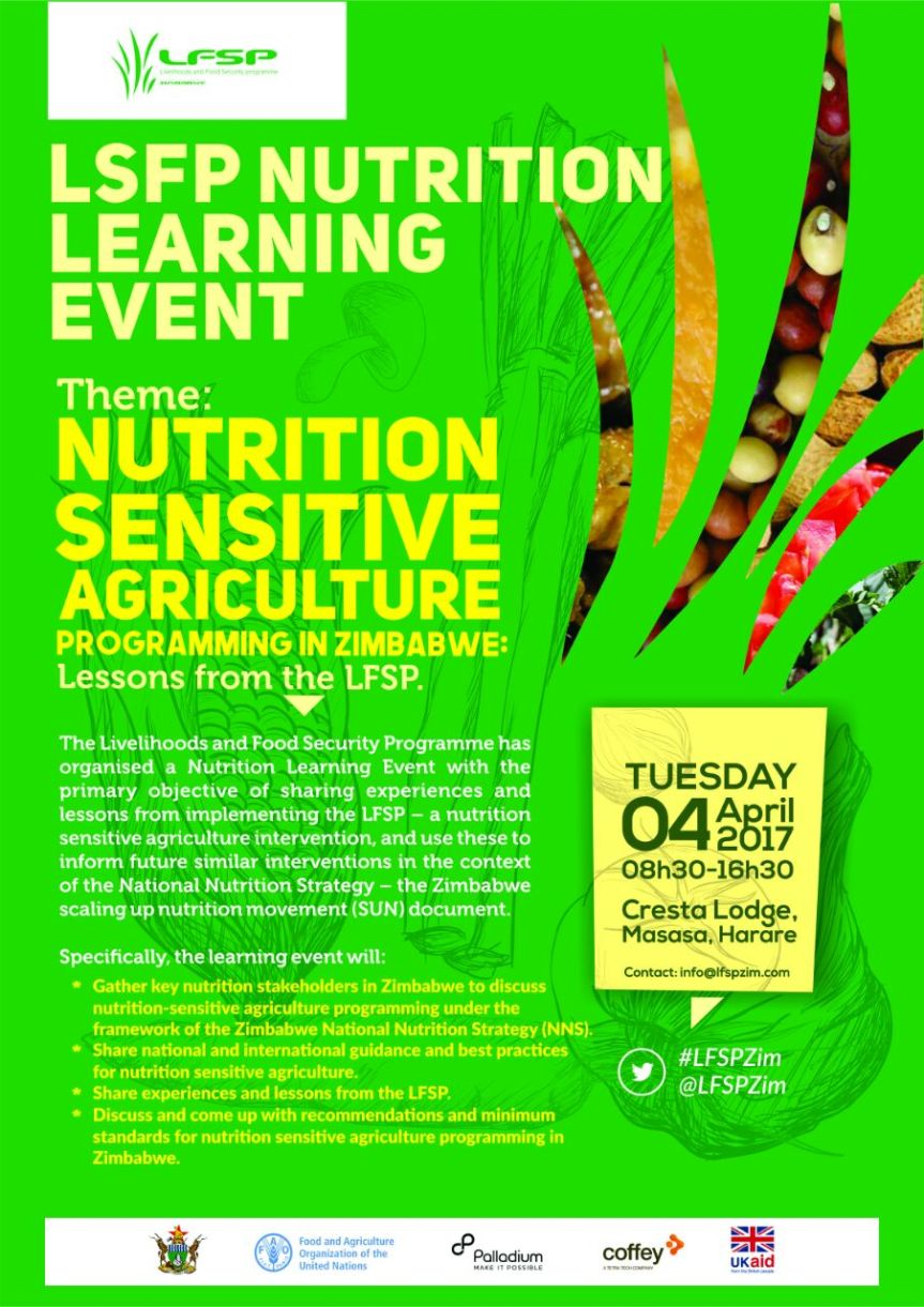 Nutrition Learning Event- Lessons from the LFSP