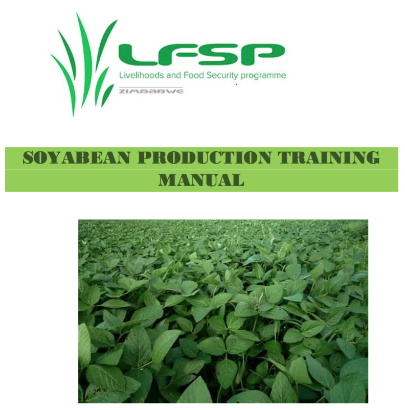 Soya bean training manual now available for Zimbabwe's farmers
