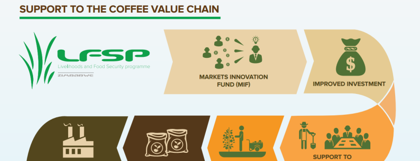 Infographic: Markets Development support to the coffee value chain