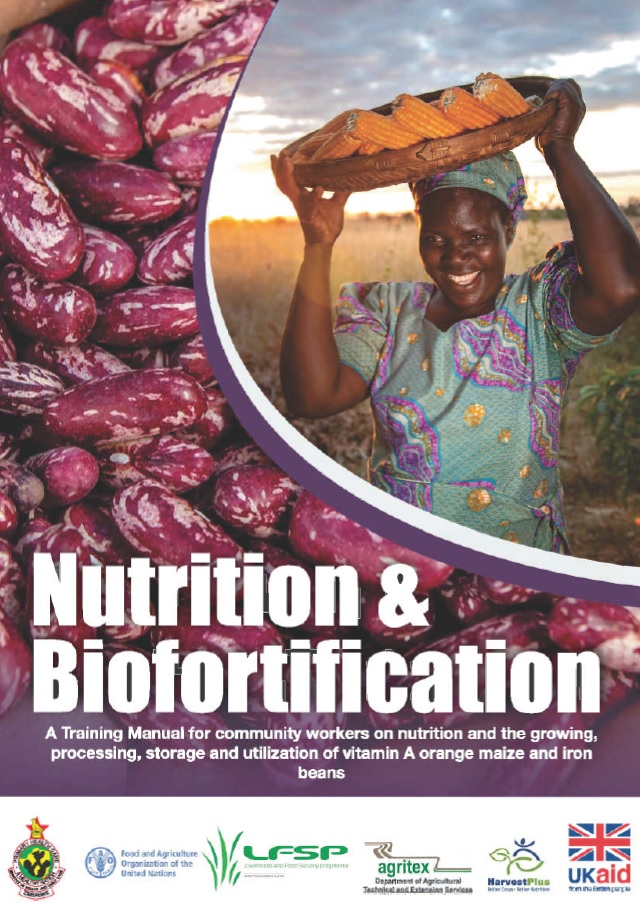 Nutrition and Biofortification Training Manual
