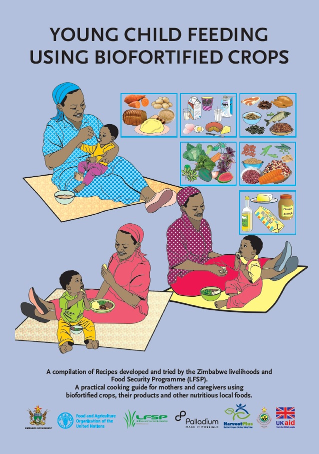 Recipe Book: Young child feeding using biofortified crops